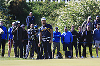 Haydn Porteous (RSA) on the 4th green during Round 4 of the Betfred British Masters 2019 at Hillside Golf Club, Southport, Lancashire, England. 12/05/19<br /> <br /> Picture: Thos Caffrey / Golffile<br /> <br /> All photos usage must carry mandatory copyright credit (© Golffile | Thos Caffrey)