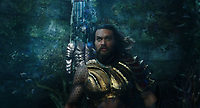 Aquaman (2018) <br /> Jason Momoa<br /> *Filmstill - Editorial Use Only*<br /> CAP/MFS<br /> Image supplied by Capital Pictures