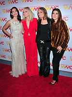 NEW YORK, NY - OCTOBER 26: Ashley Judd, Judith Light, Gloria Steinem and Marisa Tomei at the Women's Media Center 2017 Women's Media Awards at Capitale on October 26, 2017 in New York City. Credit: John Palmer/MediaPunch /NortePhoto.com