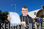 Jerdie O'Shea Chutehall a student at CBS, The Green, Tralee, who received 11 As in his Junior Certificate results on Wednesday morning