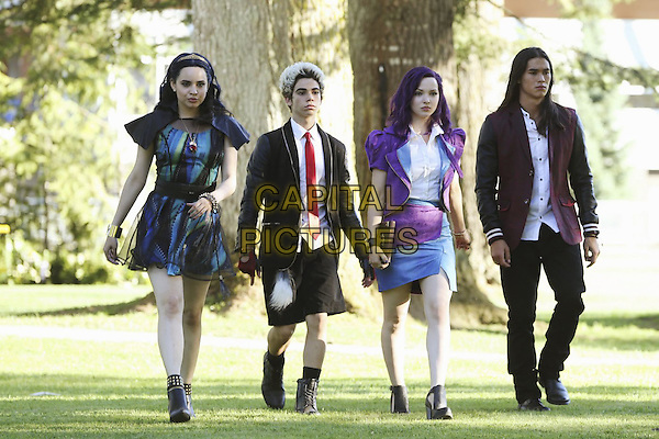 Descendants (2015) (TV Movie) <br /> Sofia Carson, Cameron Boyce, Dove Cameron, Booboo Stewart<br /> *Filmstill - Editorial Use Only*<br /> CAP/FB<br /> Image supplied by Capital Pictures