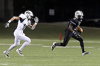 Charles Porter races to the red zone during the first quarter against McNeil.  (LOURDES M SHOAF for Round Rock Leader)