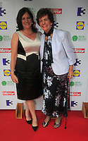 03/06/2014  <br /> Jane Liberton &amp; Philomena Lee<br /> during the Pride of Ireland awards at the Mansion House, Dublin.<br /> Photo: Gareth Chaney Collins