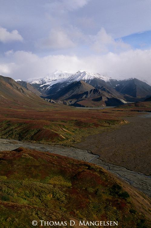 Mountains in Denali National Park, Alaska.