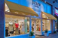 J. Crew, El Paseo Drive, Palm Desert, CA, Boutiques; famous; retailers; fashion; haute couture; shopping; Mannequins; near Palm Springs; Palm Trees; California; Coachella Valley; Desert;
