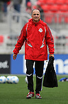 28 April 2007: Toronto's assistant coach Mike Matkovich. Major League Soccer expansion team Toronto FC lost 1-0 to the Kansas City Wizards in the inaugural game at BMO Field in Toronto, Ontario, Canada, the first MLS game played outside of the United States.