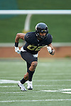 Waydale Jones (80) of the Wake Forest Black Team during the Wake Forest Football Spring Game at BB&T Field on April 7, 2018 in Winston-Salem, North Carolina.  The Gold Team defeated the Black Team 26-6.  (Brian Westerholt/Sports On Film)