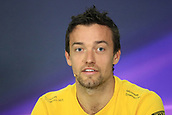 June 8th 2017, Montreal, Canada; Formula 1 Grand prix of Canada, driver press conference;  Jolyon Palmer - Renault Sport F1 Team