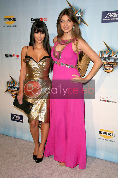 Kimberly Kardashian and Brittny Gastineau <br /> at Spike TV's 2008 'Video Game Awards'. Sony Pictures Studios, Culver City, CA. 12-14-08<br /> Dave Edwards/DailyCeleb.com 818-249-4998