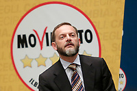 Marco Nardini<br /> Roma 29/01/2018. Presentazione dei candidati nelle liste uninominali del Movimento 5 Stelle.<br /> Rome January 29th 2018. Presentation of the candidates for Movement 5 Stars.<br /> Foto Samantha Zucchi Insidefoto