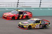 #20: Christopher Bell, Joe Gibbs Racing, Toyota Camry GameStop Transformers #7: Justin Allgaier, JR Motorsports, Chevrolet Camaro BRANDT Professional Agriculture