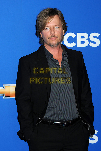 DAVID SPADE .Fall 2010 Season Premiere held at The Colony, Hollywood, California, USA..September 16th, 2010.half length shirt suit jacket hands in pockets blue black stubble facial hair goatee .CAP/ADM/BP.©Byron Purvis/AdMedia/Capital Pictures.