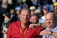 September 24th, 2006. Former England cricketer Ian Botham during the singles final session of the last day of the 2006 Ryder Cup at the K Club in Straffan,. County Kildare in the Republic of Ireland...Photo: Eoin Clarke/ Newsfile..