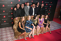 "Crew of the Movie attend the Premiere of the movie ""Musaranas"" in Madrid, Spain. December 17, 2014. (ALTERPHOTOS/Carlos Dafonte) /NortePhoto /NortePhoto.com"