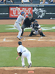 Munenori Kawasaki (Blue Jays), Masahiro Tanaka (Yankees),<br /> JUNE 17, 2014 - MLB : Japan's pitcher Masahiro Tanaka of the New York Yankees pitches against Japan's infielder Munenori Kawasaki of the Toronto Blue Jays in the 2nd inning during the Major League Baseball game at Yankee Stadium in the Bronx, NY, USA.<br /> (Photo by AFLO)