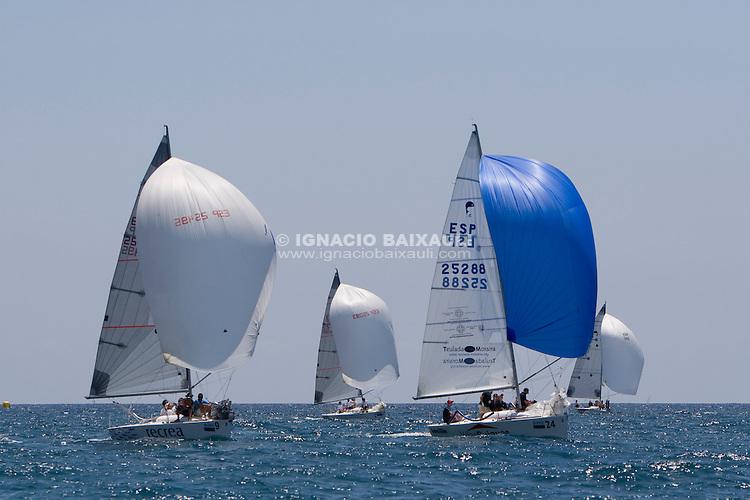 Platu 25 .XIV TROFEO TABARCA CIUDAD DE ALICANTE.Real Club de Regatas de Alicante, 9 al 12 de Julio de 2009