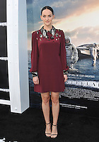 Jess Weixler at the Los Angeles premiere of Interstellar at the TCL Chinese Theatre, Hollywood.<br /> October 26, 2014  Los Angeles, CA<br /> Picture: Paul Smith / Featureflash