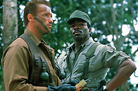 Predator (1987) <br /> Arnold Schwarzenegger &amp; Carl Weathers<br /> *Filmstill - Editorial Use Only*<br /> CAP/KFS<br /> Image supplied by Capital Pictures