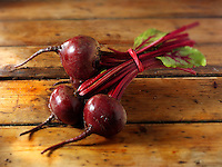 Whole fresh beetroot