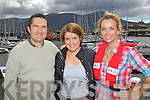 ATTENDING: John McElligott, Alison Nulty and Lorraine Scroope attending the Fenit Lifeboat Regatta on Sunday..