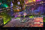 Opening ceremony of world handball in Qatar. 2014/01/15. Doha. Qatar. Alberto de Isidro / Photocall3000.
