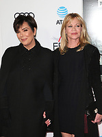 HOLLYWOOD, CA - NOVEMBER 12: Kris Jenner, Melanie Griffith, at the AFI Fest 2017 Centerpiece Gala Presentation of The Disaster Artist on November 12, 2017 at the TCL Chinese Theatre in Hollywood, California. <br /> CAP/MPIFS<br /> &copy;MPIFS/Capital Pictures