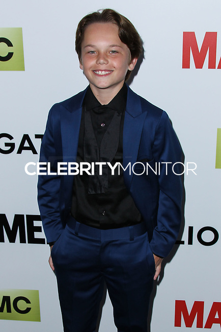 "HOLLYWOOD, LOS ANGELES, CA, USA - APRIL 02: Mason Vale Cotton at the Los Angeles Premiere Of AMC's ""Mad Men"" Season 7 held at ArcLight Cinemas on April 2, 2014 in Hollywood, Los Angeles, California, United States. (Photo by Xavier Collin/Celebrity Monitor)"