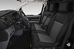 Front seat view of a 2020 Opel Vivaro Innovation 4 Door Cargo Van front seat car photos