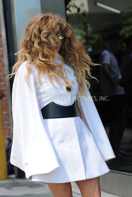 WWW.ACEPIXS.COM<br /> August 24, 2013 New York City<br /> <br /> Lady Gaga heads into the rehearsal studio in New York City on August 24, 2013.<br /> <br /> By Line: Kristin Callahan/ACE Pictures<br /> ACE Pictures, Inc.<br /> tel: 646 769 0430<br /> Email: info@acepixs.com<br /> www.acepixs.com<br /> Copyright:<br /> Kristin Callahan/ACE Pictures
