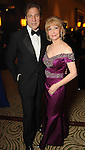 Honoree Susan Boggio and her husband Dan at the Winter Ball at the Hilton Americas Hotel Saturday Jan. 22,2011.(Dave Rossman/For the Chronicle)