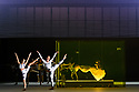 """EMBARGOED UNTIL 23:30 TUES 1ST OCTOBER, 2019. English National Opera presents """"Orpheus & Eurydice"""", by Christoph Gluck,  with libretto by Pierre-Louis Moline, version by Hector Berlioz, at the London Coliseum. Directed and choreographed by Wayne McGregor, with lighting design by Jon Clark, set design by Lizzie Clachan, costume design by Louise Gray, and video design by Ben Cullen Williams. Picture shows: Dancers of Company Wayne McGregor, Rebecca Bassett Graham (as Eurydice's double)."""