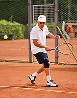 Netherlands, Amstelveen, August 21, 2015, Tennis,  National Veteran Championships, NVK, TV de Kegel,  Wim Heeremans<br /> Photo: Tennisimages/Henk Koster