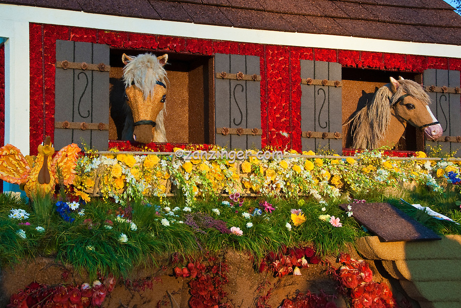 "Burbank CA, Tournament of Roses ""Barnyard Aces"" Animination Trophy"