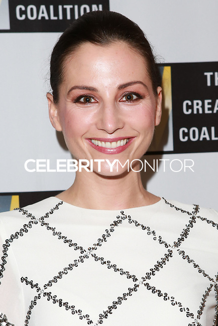 LOS ANGELES, CA, USA - OCTOBER 21: Heather McComb arrives at The Creative Coalition's 'Art of Discovery' Los Angeles Launch Party held at the Home of Lawrence Bender on October 21, 2014 in Los Angeles, California, United States. (Photo by David Acosta/Celebrity Monitor)