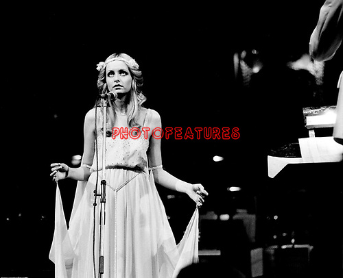 Twiggy 1975 at Roger Glover's Butterfly Ball at The Royal Albert Hall om October 16th 1975.<br /> &copy; Chris Walter