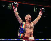 30th September 2017, Echo Arena, Liverpool, England; Matchroom Boxing, Eliminator for WBA Bantamweight World Championship; Commonwealth Lightweight Championships sean dodd versus tom stalker;Tom Stalker  retains his title on points