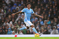 Raheem Sterling during the Barclays Premier League Match between Manchester City and Swansea City played at the Etihad Stadium, Manchester on 12th December 2015