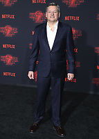 """WESTWOOD - OCTOBER 26: Netflix CCO Ted Sarandos at the premiere of Netflix's """"Stranger Things"""" Season 2 at the Regency Village Theatre on October 26, 2017 in Westwood, California. (Photo by Scott Kirkland/PictureGroup)"""