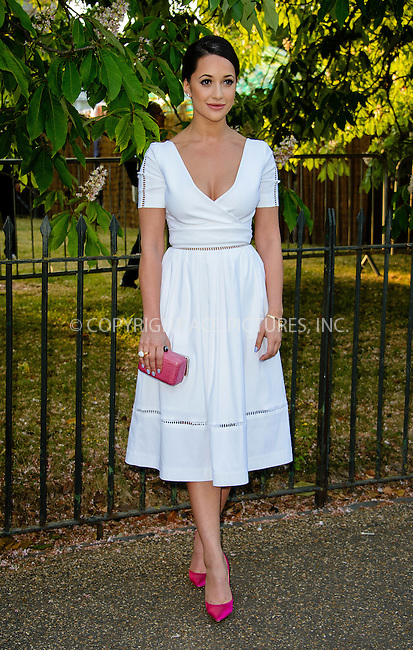 WWW.ACEPIXS.COM<br /> <br /> July 2 2015, New York City<br /> <br /> Roxie Nafousi arriving at The Serpentine Gallery summer party at The Serpentine Gallery on July 2, 2015 in London, England<br /> <br /> By Line: Famous/ACE Pictures<br /> <br /> <br /> ACE Pictures, Inc.<br /> tel: 646 769 0430<br /> Email: info@acepixs.com<br /> www.acepixs.com