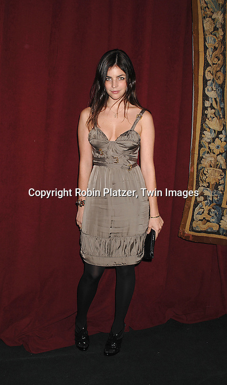 Carine Rotfield's daughter..arriving at The 7th on Sale Black Tie Gala Dinner on ..November 15, 2007 at The 69th Regiment Armory in New York. The Fashion Industry's Battle Against HIV and AIDS..will benefit...Robin Platzer, Twin Images