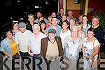 Micky Pa Callaghan,Kevin Barry's Villas,Tralee (front centre) who celebrated his birthday with family and friends, in the Munster bar,Tralee on Saturday night .