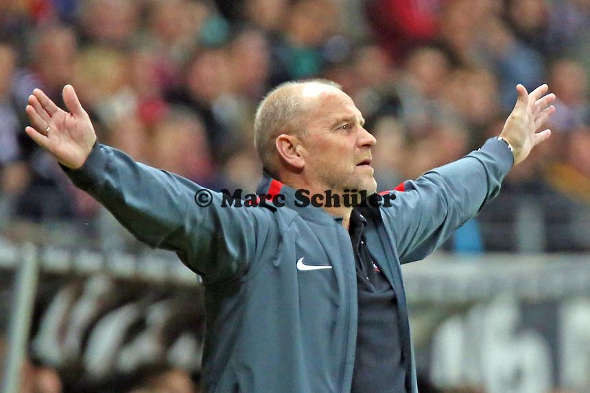 Trainer Thomas Schaaf (Eintracht) - Eintracht Frankfurt vs. 1. FSV Mainz 05, Commerzbank Arena