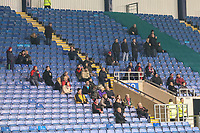 Fleetwood Town supporters during the Sky Bet League 1 match between Oxford United and Fleetwood Town at the Kassam Stadium, Oxford, England on 10 April 2018. Photo by David Horn.