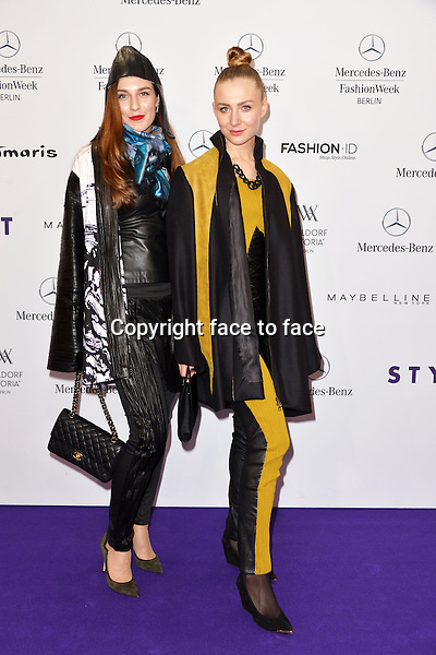 Guest attending the STYLIGHT Fashion Blogger Awards fashion show during the Mercedes-Benz Fashion Week Autumn/Winter 2013/14 Berlin in Berlin 13.01.2014. Credit Timm/face to face