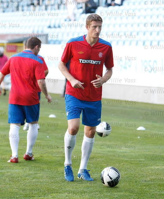 Dorin Goian at training at Malmo's Swedbank Stadium