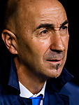 Coach Francisco Martin Ayestaran Barandiaran, Pako Ayestaran, of UD Las Palmas looks during the La Liga 2017-18 match between Real Madrid and UD Las Palmas at Estadio Santiago Bernabeu on November 05 2017 in Madrid, Spain. Photo by Diego Gonzalez / Power Sport Images