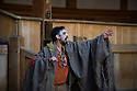 London, UK. 01.07.2014. Shakespeare's Globe presents JULIUS CAESAR by William Shakespeare, directed by Dominic Dromgoole. This picture shows , Act 1, scene 2 - The Soothsayer. Photograph © Jane Hobson.