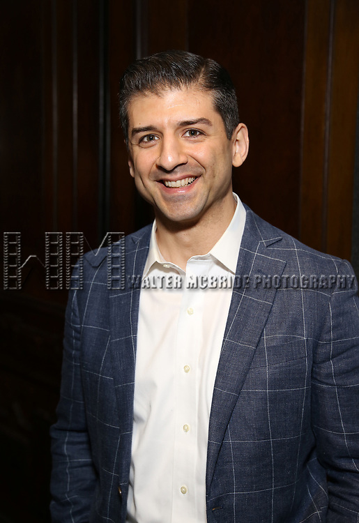 Tony Yazbeck attends the Vineyard Theatre's Annual Emerging Artists Luncheon at The National Arts Club on June 6, 2017 in New York City.