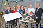This week's buyKerry winner is Sinead Joy, Ballymacelligott who pick O'Connor's World of Wonder, Tralee and Killarney to spend her winnings l-r: Danny Healy (Tralee Credit Union), Maggie McCarthy (World of Wonder), Eileen Curtin (Kerry's Eye), Sinead and Jack Joy, Chris Elbell (manager World of Wonder), Adam Joy and Brendan Kennelly (Kerry's Eye).