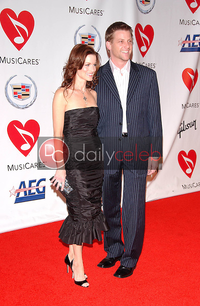 Laura Leighton and Doug Savant<br />